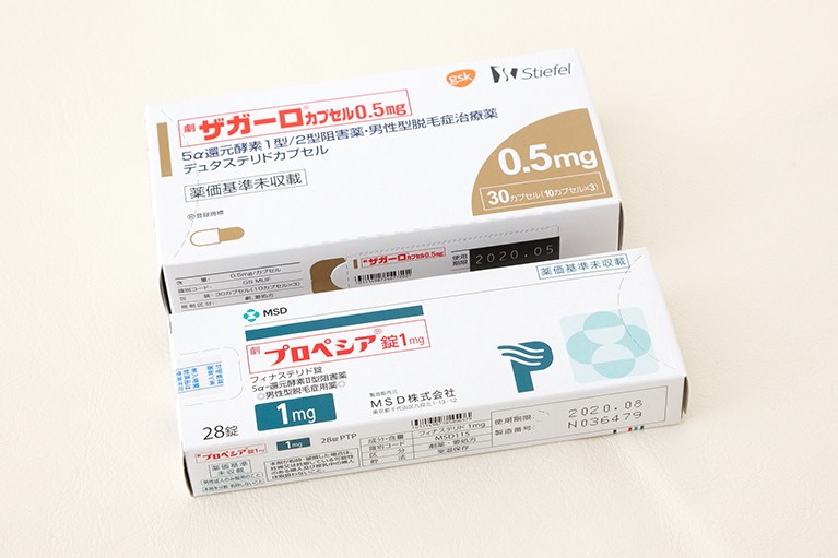 AGA(男性型脱毛症)内服薬